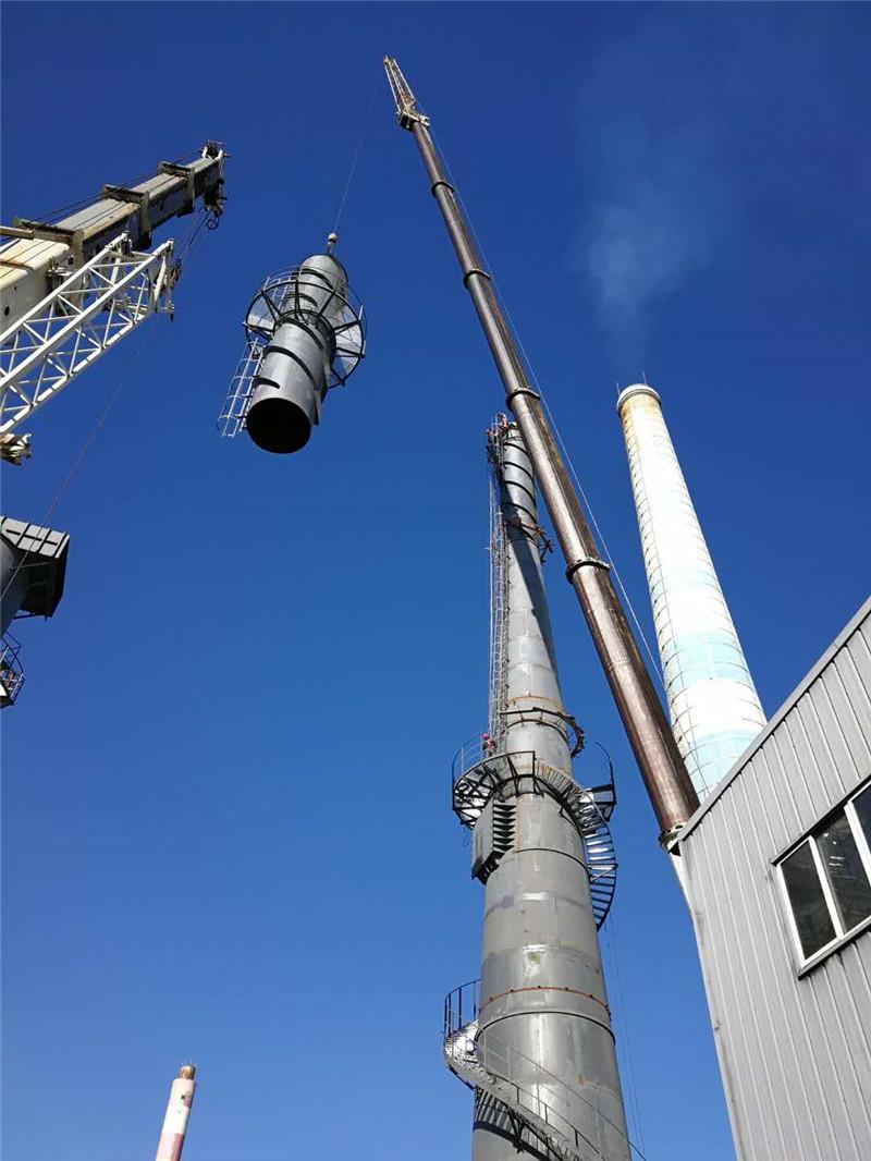钢烟囱吊装